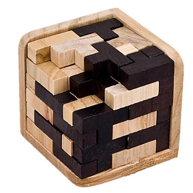 uk store on feet images of official shop [$5.99] Tetris Puzzles en bois IQ Casse-Tête Assemblage & Dextérité  Casse-tête Chinois Cadenas Jouets Jouets Carré Nouveautés Test de QI Bois