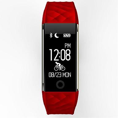 YYS2 ผู้ชาย สร้อยข้อมือสมาร์ท Android iOS บลูทูธ กีฬา ตรวจสอบอัตรการเต้นของหัวใจ ขอสัมผัส เผาผลาญแคลอรี่ โหมดสแตนบายยาว / ติดตามการทำกิจกรรม / ติดตามการนอนหลับ / ค้นหาอุปกรณ์ / เซนเซอร์แรงโน้มถ่วง
