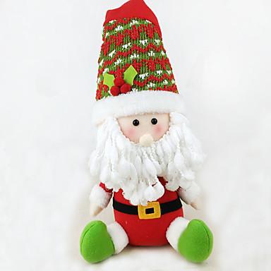 ตกแต่งวันคริสมาสต์ อุปกรณ์งานคริสต์มาส Santa Suits Elk มนุษย์หิมะ สิ่งทอ ผู้ใหญ่ Toy ของขวัญ