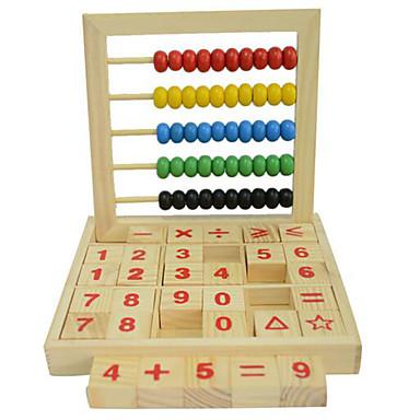 Abacuses ของเล่น ของเล่นการศึกษา แปลกใหม่ ไม้ 1 pcs เด็กผู้ชาย เด็กผู้หญิง Toy ของขวัญ