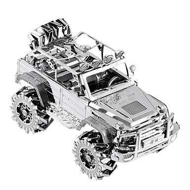 levne 3D puzzle-PIECECOOL 3D puzzle Puzzle Dřevěné puzzle Kovové puzzle Dřevěný model 1 pcs Auto kreativita Cool Zábavné Udělej si sám Punková móda Klasické & nadčasové Speciální Závodní auto Chlapecké Dívčí Hračky