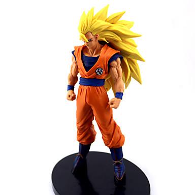ตัวเลขการกระทำอะนิเมะ แรงบันดาลใจจาก Dragon Ball Goku การ์ตูนอานิเมะ ชุดแฟนซี รูป พีวีซี ชุดฮาโลวีน