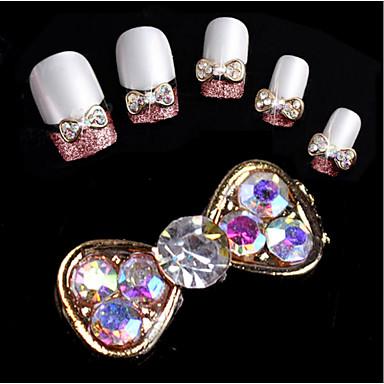 10pcs Rhinestones Nail Jewelry Glitters Fashion High Quality Daily
