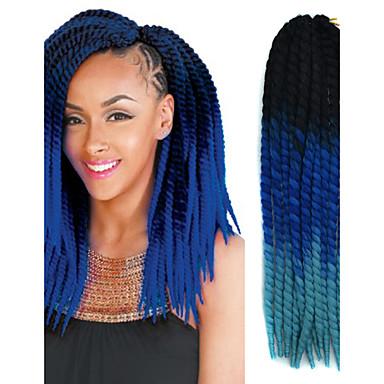 Black ombre sapphire blue havana crochet twist braids hair black ombre sapphire blue havana crochet twist braids hair extensions 22 kanekalon 2 strand 120g gram hair braids 5490327 2018 899 pmusecretfo Image collections