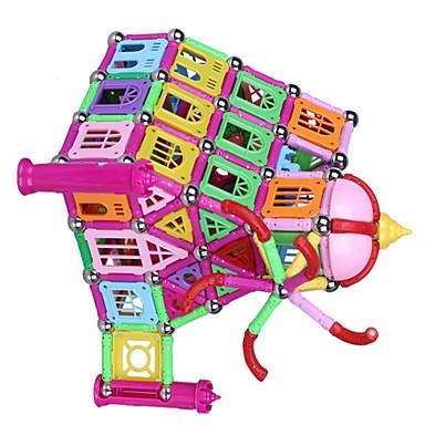 บล็อกแม่เหล็ก ของเล่นแม่เหล็ก Magnetic Sticks 1 pcs ปราสาท ที่เข้ากันได้ Legoing Creative Magnetic แปลกใหม่ เด็กผู้ชาย เด็กผู้หญิง Toy ของขวัญ / แผ่นแม่เหล็ก / Building Blocks