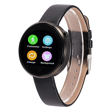 ดูสมาร์ท สำหรับ iOS / Android ตรวจสอบอัตรการเต้นของหัวใจ / GPS / โทรแบบไม่ใช้มือ / กันน้ำ / วีดีโอ เครื่องจับเวลา / นาฬิกาจับเวลา / ติดตามการทำกิจกรรม / ติดตามการนอนหลับ / ค้นหาอุปกรณ์ / นาฬิกาปลุก