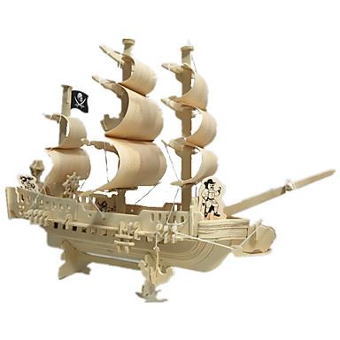 3D-puslespill Model Building Kits แบบไม้ แปลกใหม่ ทำด้วยไม้ 1 pcs สำหรับเด็ก ผู้ใหญ่ เด็กผู้ชาย เด็กผู้หญิง Toy ของขวัญ