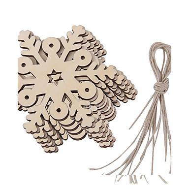 levne Party doplňky-ornamenty Dřevo Svatební dekorace Vánoce Zima