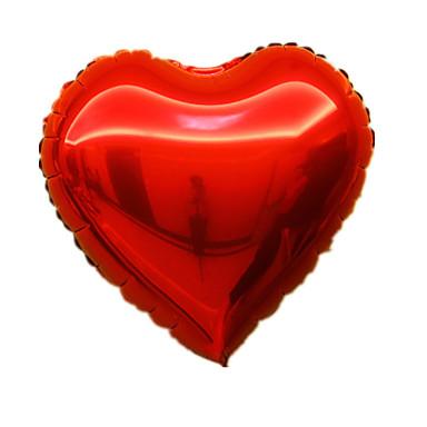 levne Balónky-Balónky Tvar srdce Hliník 5-7 let