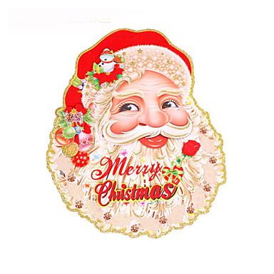 ตกแต่งวันคริสมาสต์ อุปกรณ์งานคริสต์มาส Santa Suits กระดาษ ผู้ใหญ่ Toy ของขวัญ 4 pcs