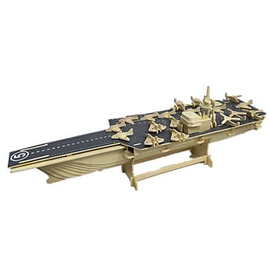 levne 3D puzzle-3D puzzle Model dřeva Modele Hračky Letadlo Zábavné Dřevo Chlapecké Dívčí 1 Pieces