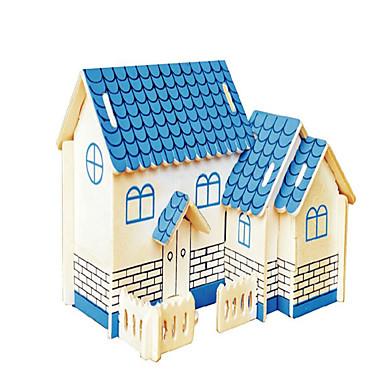 levne 3D puzzle-Dřevěné puzzle Letadlo Dům profesionální úroveň Dřevo 1 pcs Chlapecké Dívčí Hračky Dárek