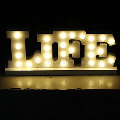 ไฟ LED ไม้ เครื่องประดับจัดงานแต่งงาน การหมั้น / งานแต่งงาน ธีมคลาสสิก ฤดูใบไม้ผลิ / ฤดูร้อน / ตก