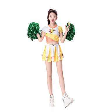 Career Costumes / Cheerleader Costume Cosplay Costume / Party Costume Womenu0027s Halloween / Carnival Festival / Holiday Halloween Costumes Solid Colored ...  sc 1 st  LightInTheBox & Career Costumes / Cheerleader Costume Cosplay Costume / Party ...
