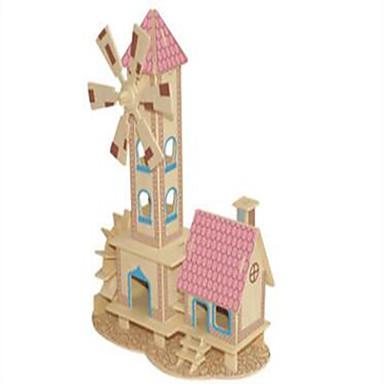 ปริศนาไม้ บ้าน ระดับมืออาชีพ ไม้ 1 pcs เด็กผู้ชาย เด็กผู้หญิง Toy ของขวัญ