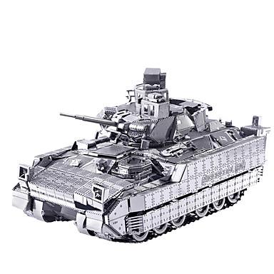 levne 3D puzzle-Autíčka 3D puzzle Puzzle Dřevěné puzzle Kovové puzzle Dřevěný model 2 pcs Tank Vozík kreativita Cool Zábavné Udělej si sám Nábytek Klasické & nadčasové Speciální Nový přírůstek Chlapecké Dívčí Hračky