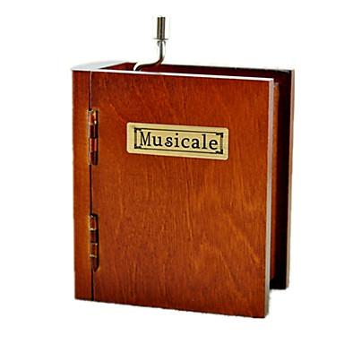กล่องดนตรี หีบเสียง หวาน พิเศษ Creative เสียง แปลกใหม่ ของขวัญ ไม้ Metal เด็กผู้ชาย เด็กผู้หญิง ของขวัญ