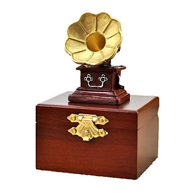 กล่องดนตรี Trekk-opp-leker หีบเสียง หวาน พิเศษ เรทโทร Creative เสียง ของขวัญ ไม้ Metal เด็กผู้ชาย เด็กผู้หญิง ของขวัญ