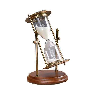 หุ่นทรงนาฬิกาทราย เรทโทร Creative บทความเกี่ยวกับเครื่องตกแต่ง แก้ว Metal เด็กผู้ชาย เด็กผู้หญิง Toy ของขวัญ