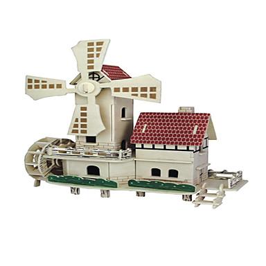 ปริศนาไม้ บ้าน ระดับมืออาชีพ ทำด้วยไม้ 1 pcs สำหรับเด็ก เด็กผู้ชาย เด็กผู้หญิง Toy ของขวัญ