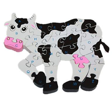 levne 3D puzzle-Puzzle / Dřevěné puzzle Cow Půvab / Zábavné Dřevo Chlapecké / Dívčí Dárek