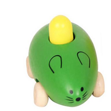 ของเล่นการศึกษา เมาส์ แปลกใหม่ ไม้ 1 pcs เด็กผู้ชาย เด็กผู้หญิง Toy ของขวัญ