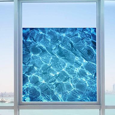 อาร์ต เดคโค ร่วมสมัย สติกเกอร์หน้าต่าง, PVC/Vinil วัสดุ ตกแต่งหน้าต่าง