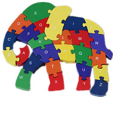 levne 3D puzzle-Puzzle Hračky Slon Zábavné Dřevo Chlapecké Dívčí 1 Pieces