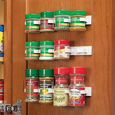 preiswerte Netze & Halter-küche flasche gewürz organizer rack schranktür gewürzclips 20-clip-set