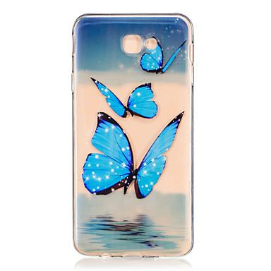 carcasa móvil samsung j5 2016 mariposa