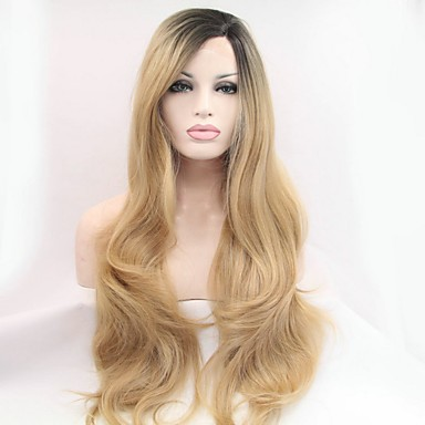 Synthetic Lace Front Wig Women s Natural Wave Blonde Synthetic Hair Natural  Hairline Blonde Wig Lace Front Soft Black 5510819 2019 –  44.99 8c86655a66