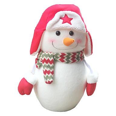 มนุษย์หิมะ สิ่งทอ ไนลอน ฝ้าย ผู้ใหญ่ Toy ของขวัญ 1 pcs
