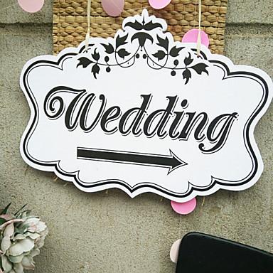 งานแต่งงาน ไม้ / วัสดุผสม เครื่องประดับจัดงานแต่งงาน ธีมคลาสสิก ทุกฤดู