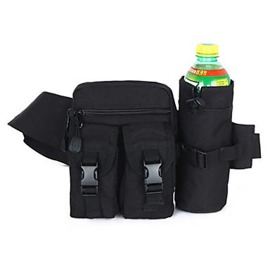 กระเป๋าสะพายเอว กระเป๋าสะพาย เข็มขัดกระเป๋า 10 L สำหรับ แคมป์ปิ้ง & การปีนเขา การล่าสัตว์ การปีนหน้าผา กีฬาสันทนาการ กระเป๋าสปอร์ต Tactical มัลติฟังก์ชั่ กันน้ำ Terylene ไนลอน วัสดุกันน้ำ ทุกเพศ