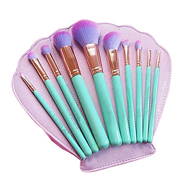 cheap Makeup Brush Sets-Professional Makeup Brushes Makeup Brush Set 10pcs Eco-friendly Professional Full Coverage Limits Bacteria Synthetic Hair / Artificial Fibre Brush Wood Makeup Brushes for