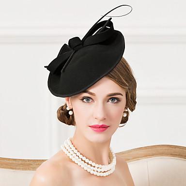 povoljno Party pokrivala za glavu-Vuna / Perje Kentucky Derby Hat / Fascinators / kape s 1 Vjenčanje / Special Occasion / Kauzalni Glava