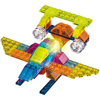 Building Blocks ของเล่นชุดก่อสร้าง ของเล่นการศึกษา 73 pcs Fighter โคมไฟ LED Lighting เท่ห์ DIY คลาสสิก เด็กผู้ชาย เด็กผู้หญิง Toy ของขวัญ