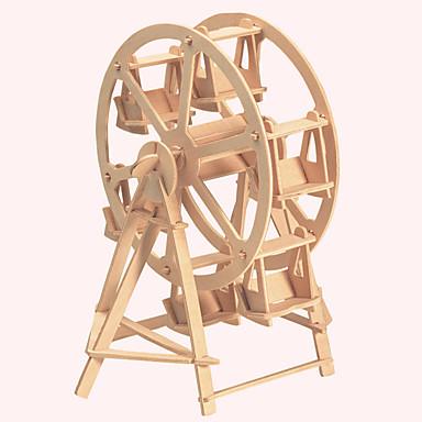 levne 3D puzzle-Dřevěné puzzle Slavné stavby Čínské stavby Dům profesionální úroveň Dřevěný 1 pcs Dětské Chlapecké Dívčí Hračky Dárek