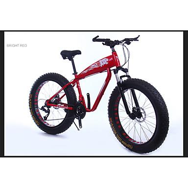 voordelige Fietsen-Mountain Bike Wielrennen 21 Speed 66.0 cm / 700CC SAIGUAN EF-51 Dubbele schijfrem Verende Voorvork Aluminium Alloy Aluminium
