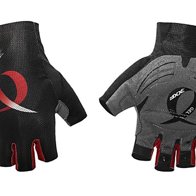 BOODUN ฤดูหนาว ถุงมือขี่จักรยาน ขี่จักรยานปีนเขา Road Cycling ระบายอากาศ ป้องกันการลื่นล้ม Sweat-wicking Protective ถุงมือแบบครึ่งมือ กิจกรรมและถุงมือสำหรับกีฬา ส้ม สีน้ำเงิน ทับทิม สำหรับ ผู้ใหญ่