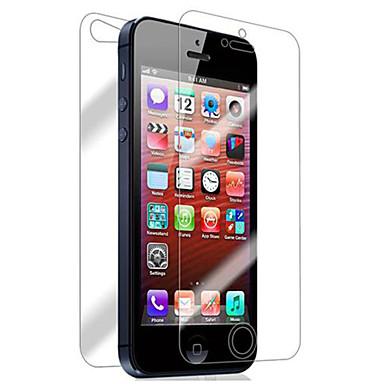 preiswerte Bis zu 0,99 $-Displayschutzfolie für Apple iPhone 6s / iPhone 6 / iPhone SE / 5s 2 Stück Vorderer & hinterer Bildschirmschutz