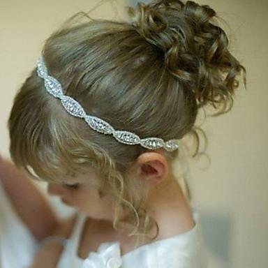 billige Tilbehør til barn-Barn / Baby Gutt / Jente Silke / Bomull Hårtilbehør Hvit / Pannebånd