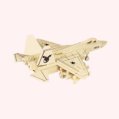 ปริศนาไม้ Fighter ระดับมืออาชีพ ทำด้วยไม้ 1 pcs เด็กผู้ชาย Toy ของขวัญ
