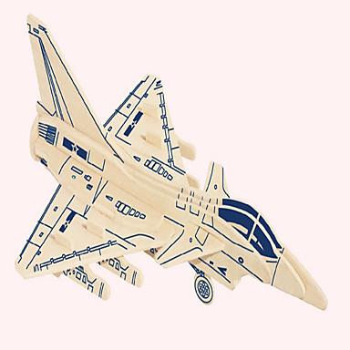 ปริศนาไม้ Fighter ระดับมืออาชีพ ทำด้วยไม้ 1 pcs สำหรับเด็ก เด็กผู้ชาย Toy ของขวัญ