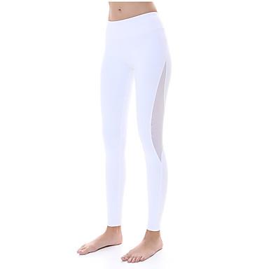 a1b5b8dd9d451 Pantalones de yoga Medias Mallas Largas Leggings Secado rápido Transpirable  Compresión Tejido Ultra Ligero Eslático Ropa deportiva Mujer 5528484 2019 –  ...