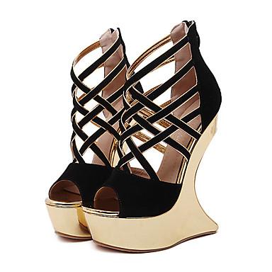 Mujer Mujer Mujer Zapatos Semicuero Primavera Verano Creepers Confort Innovador b6972f
