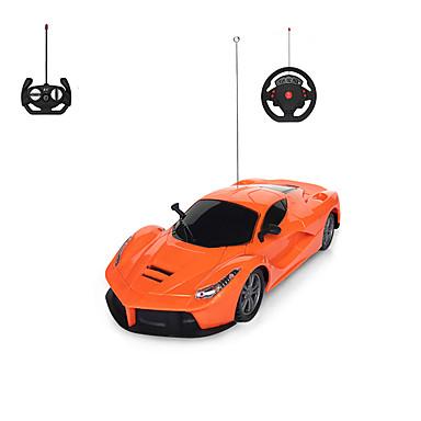 รถยนต์ Racing 1001 1:12 เครื่องจักรกลไฟฟ้าที่ไม่ใช้แปรงถ่าน รถ RC 2.4กรัม Orange Ready-To-Go รถควบคุมระยะไกล / USB Cable / User Manual