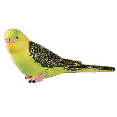 Bird จอแสดงผลรุ่น สัตว์ต่างๆ การจำลอง คลาสสิกและถาวร เก๋ไก๋และทันสมัย โพลีคาร์บอเนต พลาสติก เด็กผู้หญิง Toy ของขวัญ 1 pcs