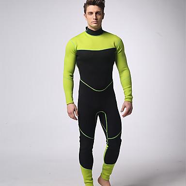 Mysenlan สำหรับผู้ชาย drysuits 3mm สแปนเด็กซ์ ชุดออกกำลังกาย ระบายอากาศ ออกแบบตามสรีระ การดำน้ำ คลาสสิก ฤดูร้อน / ยืด