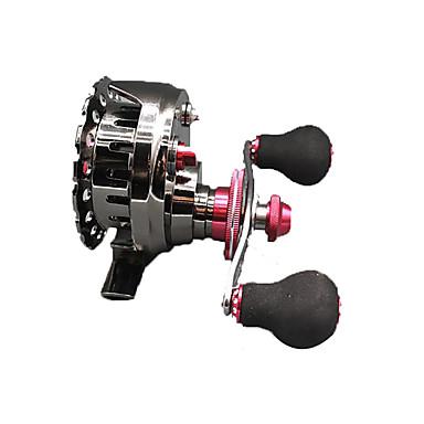 Gelendong Memancing Spinning Reels 2.6:1 อัตราทดเกียร์+7 บอลแบริ่ง หมุนขวา การตกปลาทั่วไป - 筏60L